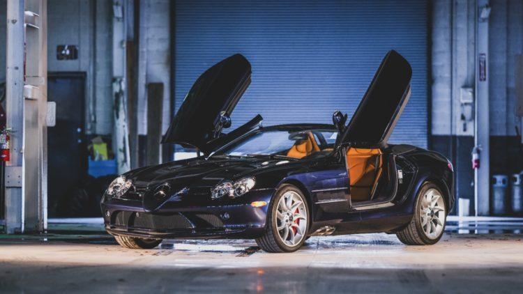 2009 Mercedes-Benz SLR McLaren Roadster on offer at RM Sotheby's Amelia Island 2020 Sale