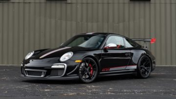 Black 2011 Porsche 997 GT3 RS 4.0 on offer at Gooding Amelia Island Sale 2020