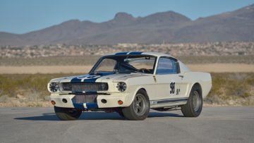 1965 Shelby GTR350R Competition Model on offer at Mecum Indy 2020