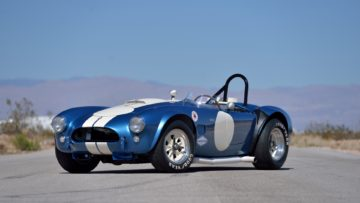 1964 SHELBY 289 INDEPENDENT COMPETITION COBRA on offer at Mecum Indy 2020