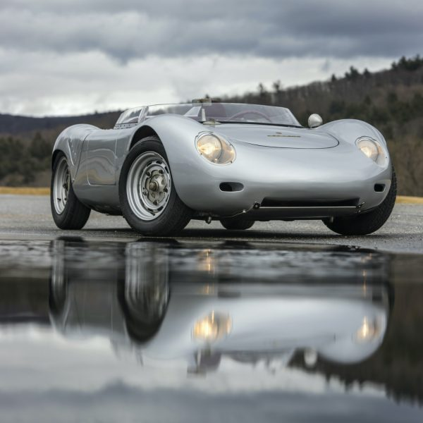 1959 Porsche 718 RSK Spyder at Bonhams Quail Lodge 2020