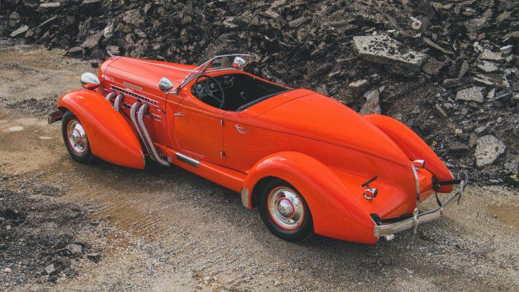 1935 Auburn Eight Supercharged Speedster at RM Sotheby's Auburn Fall Sale 2020