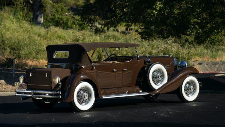 1936 Duesenberg Model J Tourster at RM Sotheby's Auburn Fall Sale 2020