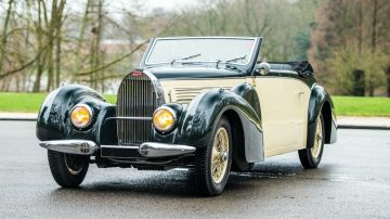 1939 Bugatti Type 57 Cabriolet by Gangloff sold at the RM Sotheby's Online Online Only: The European Sale 2020