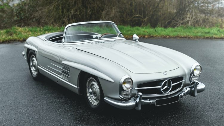 1958 Mercedes-Benz 300 SL Roadster sold at the RM Sotheby's Online Online Only: The European Sale 2020