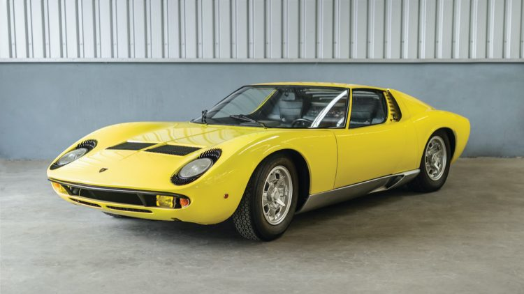 1968 Lamborghini Miura P400 sold at the RM Sotheby's Online Online Only: The European Sale 2020