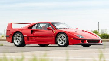 1992 Ferrari F40 Gooding Geared Online Sale 2020