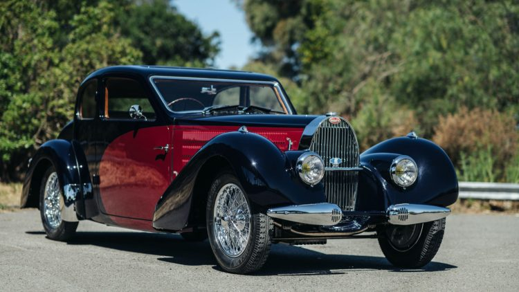 1937 Bugatti Type 57C Ventoux on offer in the RM Sotheby's Online Only Shift / Monterey 2020 Sale