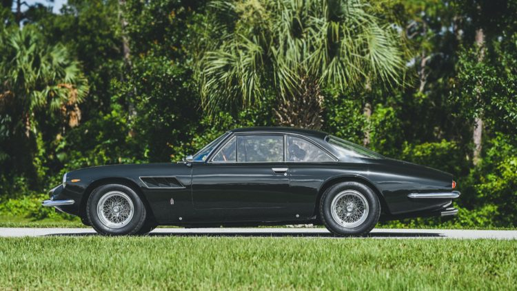 Black 1965 Ferrari 500 Superfast on offer in the RM Sotheby's Online Only Shift / Monterey 2020 Sale
