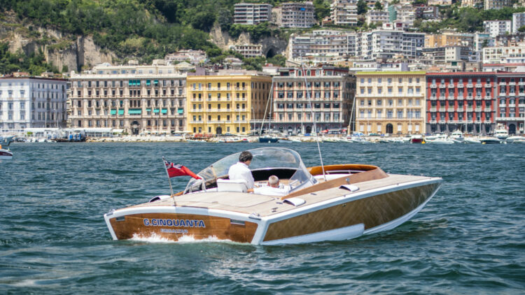 "1968 Sonny Levi designed powerboat – the ""G. Cinquanta"" G50, created new for charismatic Fiat boss, Gianni Agnelli. RM Sotheby's Open Roads, The European Summer Auction 2020"