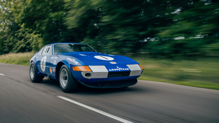 1971 Ferrari 365 GTB/4 Daytona Competizione on offer at RM Sotheby's Online-Only Shift / Monterey Sale 2020