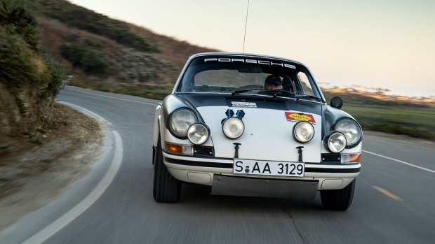Works 1971 Porsche 911 ST Rally on offer in the Gooding Geared Online 2020 sale