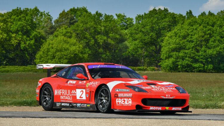 2001 Ferrari 550 GT1 Prodrive on offer at RM Sotheby's Online-Only Shift / Monterey Sale 2020