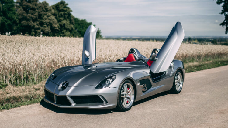 2009 Mercedes-Benz SLR McLaren Stirling Moss RM Sotheby's Open Roads, The European Summer Auction 2020