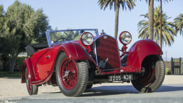 1934 Alfa Romeo 8C 2300 Cabriolet Décapotable