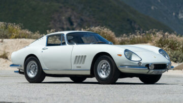 White 1966 Ferrari 275 GTB Long Nose at Gooding Geared Online 2020 Sale