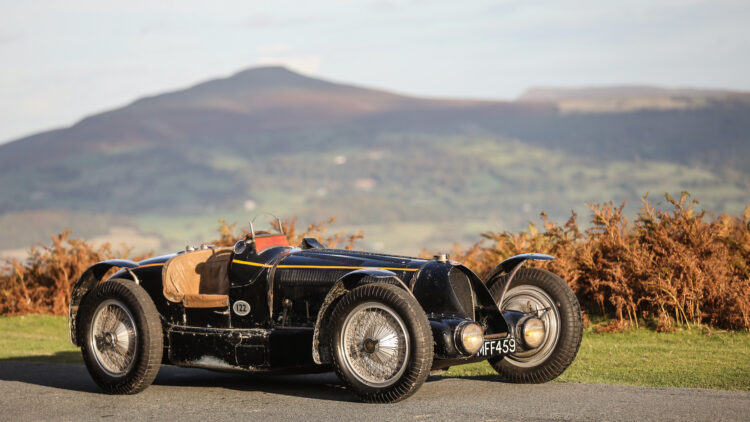 Most-expensive Bugatti Ever 1934 Bugatti Type 59 Sports sold at Gooding London Passion of a Lifetime Auction 2020