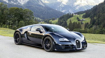 2020 Bugatti Veyron 16.4 SuperSport Coupé at Bonhams Bonmont 2020 Sale