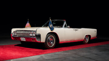 "1963 Lincoln Continental Convertible ""Limo One"""