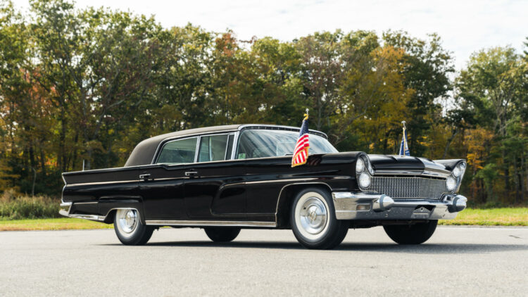 1960 Lincoln Continental Mark V Executive Limousine - Not Sold at Bonhams New York JFK sale 2020