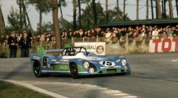 The Matra MS 670 chassis 001 Le Mans 1972