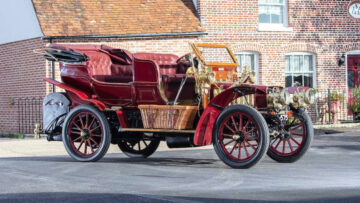 1903 Thornycroft 20hp 4-cyclinder Double Phaeton