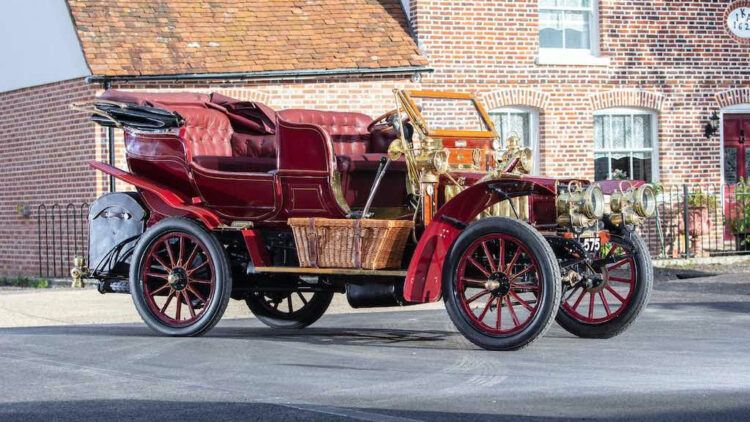 1903 Thornycroft 20hp 4-cyclinder Double Phaeton