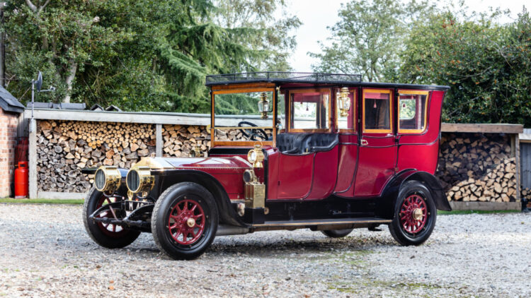 1911 Rolls-Royce 40/50hp Silver Ghost Semi-Open Drive Limousine on offer at Bonhams London 2020 Sale
