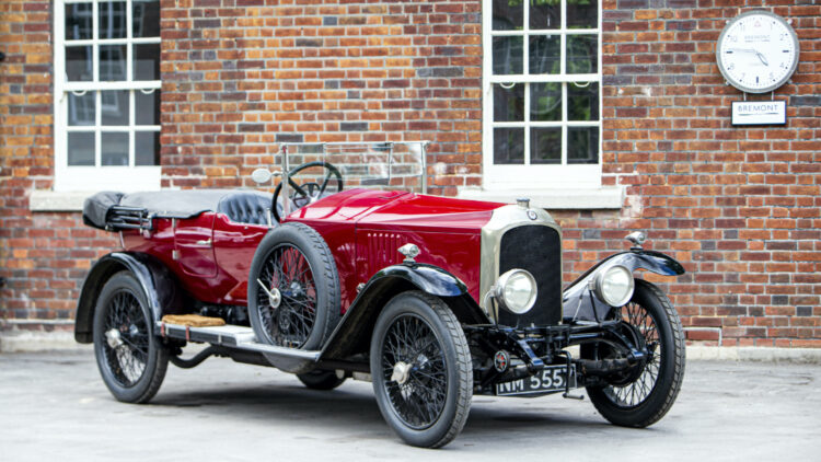 1924 Vauxhall 30-98 OE Velox Tourer