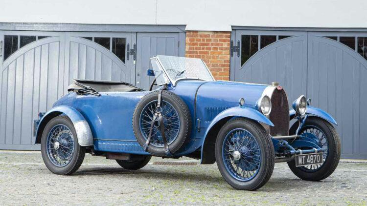 1929 Bugatti Type 40 Grand Sport Open Tourer