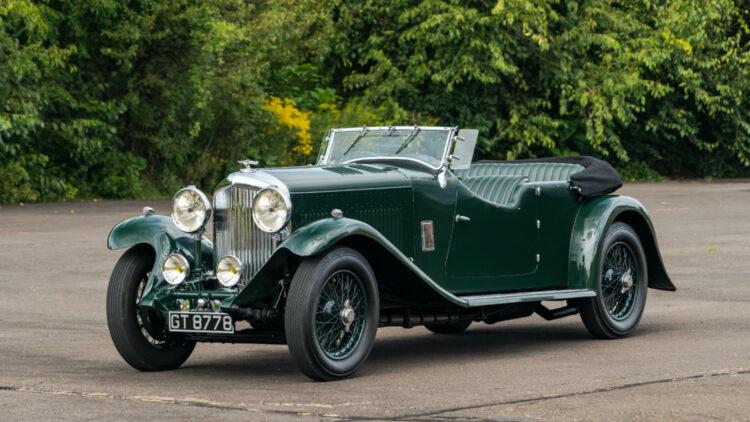 1930 Bentley 8-Liter Tourer on offer at Bonhams Simeone Sale 2020