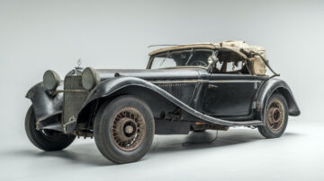 1935 Mercedes-Benz 290 Cabriolet A on offer at Bonhams Simeone Sale 2020