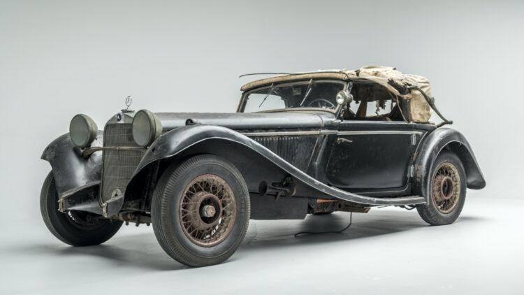 1935 Mercedes-Benz 290 Cabriolet A on offer at Bonhams Simeone Sale 2020