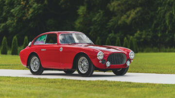 1952 Ferrari 225 S Berlinetta by Vignale Top Results at sold at RM Sotheby's Elkhart Sale 2020