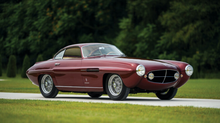 1953 Fiat 8V Supersonic by Ghia sold at RM Sotheby's Elkhart Sale 2020