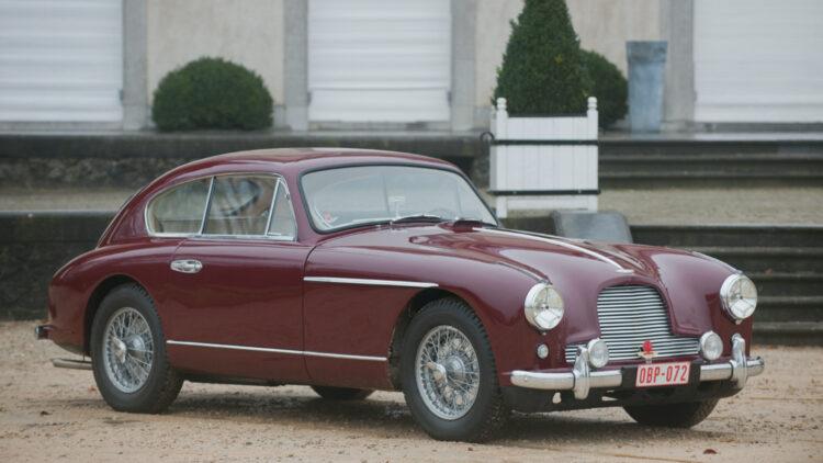 1955 Aston Martin DB2/4 3.0-litre sports saloon