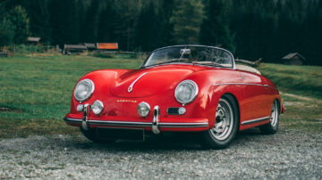 1955 Porsche 356 Carrera 1500 GS Speedster on offer at RM Sotheby's London 2020