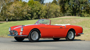 1956 Maserati A6G/54 Frua Spider on offer in Gooding Geared Online October 2020 Sale