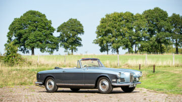 Ex-John Surtees 1957 BMW 503 Cabriolet on offer at Bonhams Goodwood Speedweek 2020 profile
