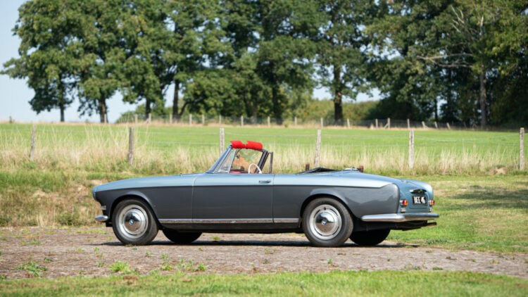 Ex-John Surtees 1957 BMW 503 Cabriolet on offer at Bonhams Goodwood Speedweek 2020