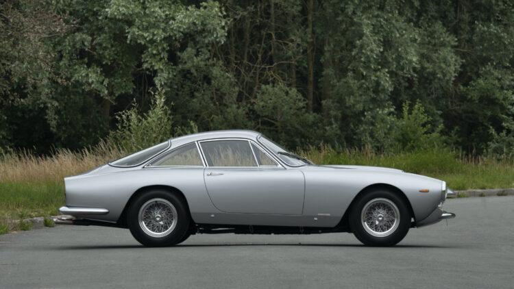 Silver 1963 Ferrari 250 GT Lusso Berlinetta