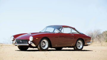 1964 Ferrari 250 GT Lusso on offer in the Gooding Geared Online October 2020 Sale