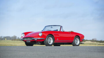 1967 Ferrari 330 GTS on offer at the Bonhams Goodwood SpeedWeek Sale 2020