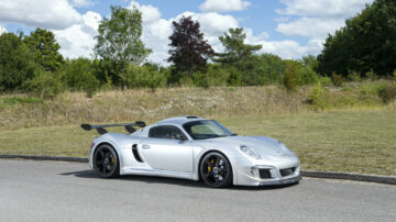 2013 RUF CTR 3 Clubsport on offer at the Bonhams Goodwood SpeedWeek Sale 2020