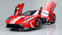 Red 2018 Ford GT at Barrett-Jackson Scottsdale 2021 Auction
