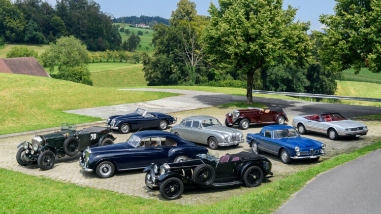 The Alps to Goodwood Collection on offer at the Bonhams Goodwood SpeedWeek Sale 2020