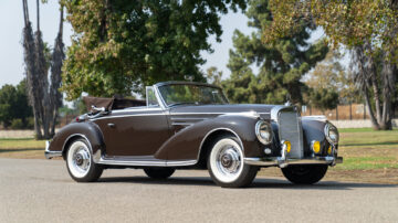 1956 Mercedes-Benz 300 Sc Cabriolet on offer in Gooding Geared Online October 2020 Sale