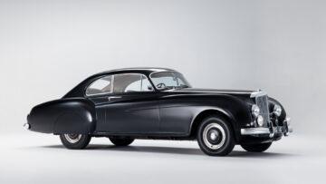 Black 1953 Bentley Continental Sports Saloon, on offer at Bonhams Bond Street Sale London 2020