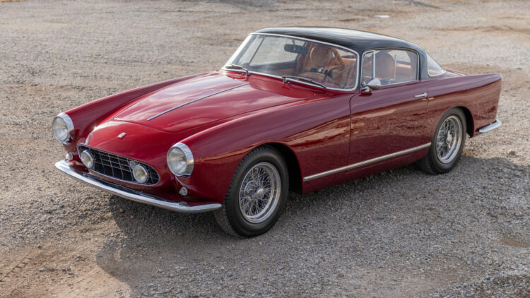 1956 Ferrari 250 GT Alloy Coupe RM Sotheby's Arizona (Scottsdale) 2021 Sale
