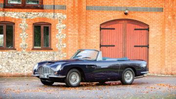 1967 Aston Martin DB6 Vantage Volante on offer at Bonhams Bond Street Sale London 2020